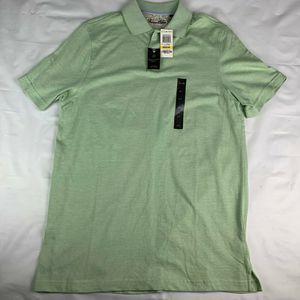 Tasso Elba Shirts - Tasso Elba Signature Polo Shirt Lime In Coco Green